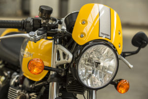 Triumph Street Cup headlight