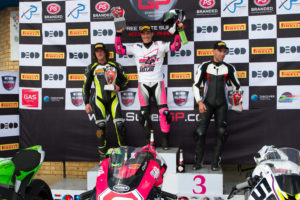 SuperGP Phakisa Podium