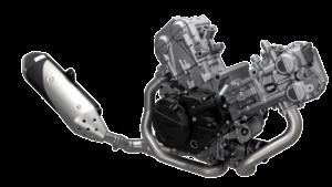 Suzuki SV650 motor