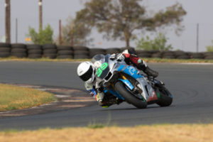 Allann-Jon Venter won the second SuperGP race