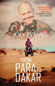 Joey Evans From Para To Dakar book