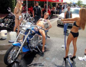 Rim & Rubber Bikini Bike Wash