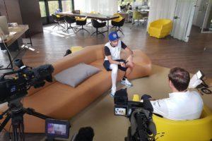 Rossi broken leg interview
