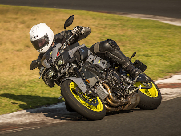 Yamaha MT-10 At Red Star Raceway