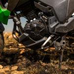 CRF250 Rally vs Versys-X 300 green motor
