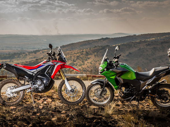 Lightweight Adventures: Versys-X 300 vs CRF250L Rally