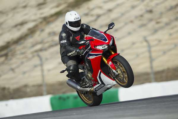 Honda Fireblade power