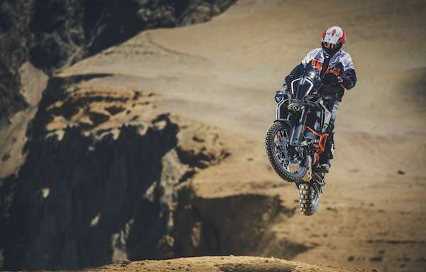 KTM 1290 Super Adventure R lightest