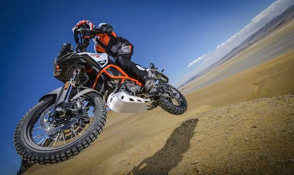 KTM 1290 Super Adventure R suspension