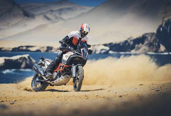 KTM 1290 Super Adventure R power