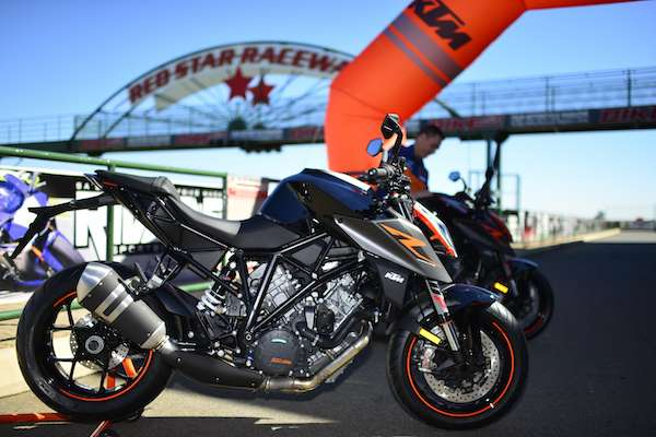2017 KTM Super Duke 1290 R launch