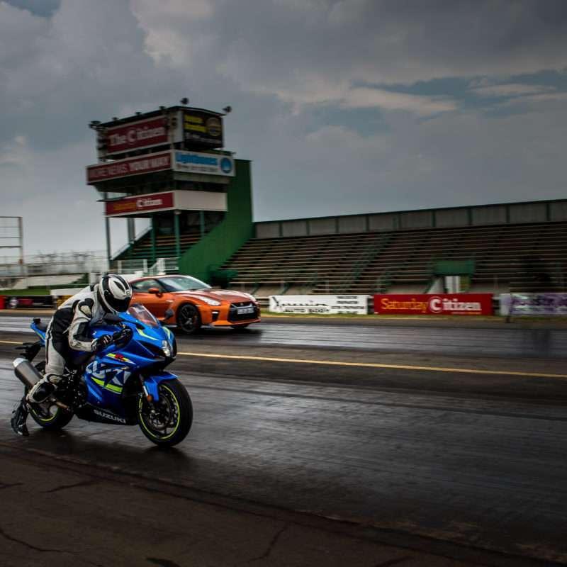 2017 Suzuki GSX-1000 drag race