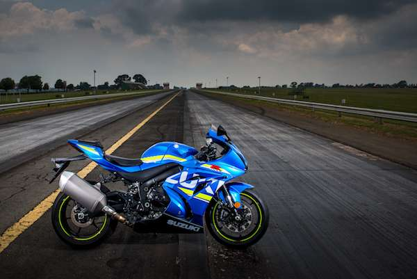 2017 Suzuki GSX-1000 surprise