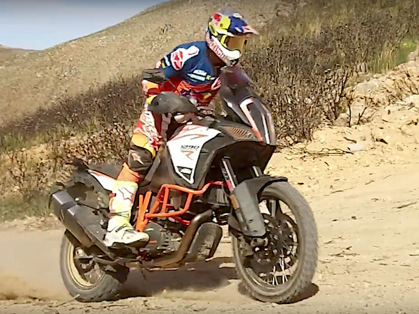 Video: KTM launches new Adventure range