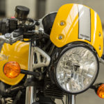 Triumph Street Cup headlight