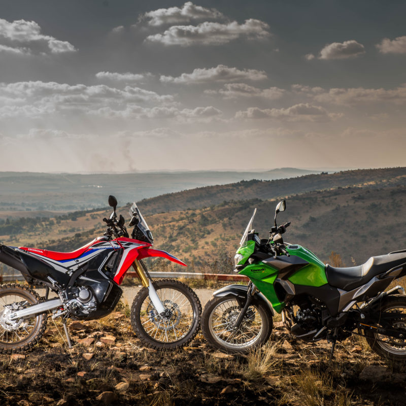 CRF250 Rally vs Versys-X 300 opener