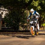 KTM 390 Duke air