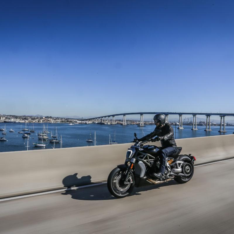 Ducati XDiavel bridge
