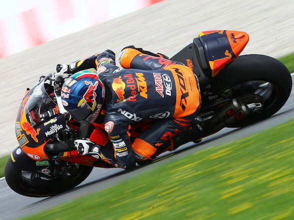 Austrian GP: Brad Binder aiming for race day pace