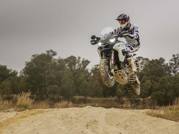 Enduro on an Enduro: Ducati Multistrada Enduro
