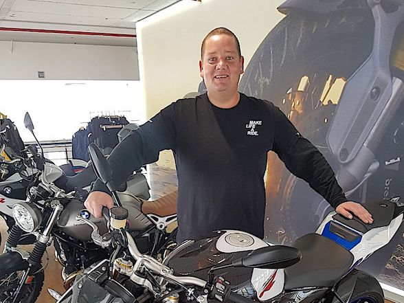 Jacques Pretorius returns to Sandton Motorrad
