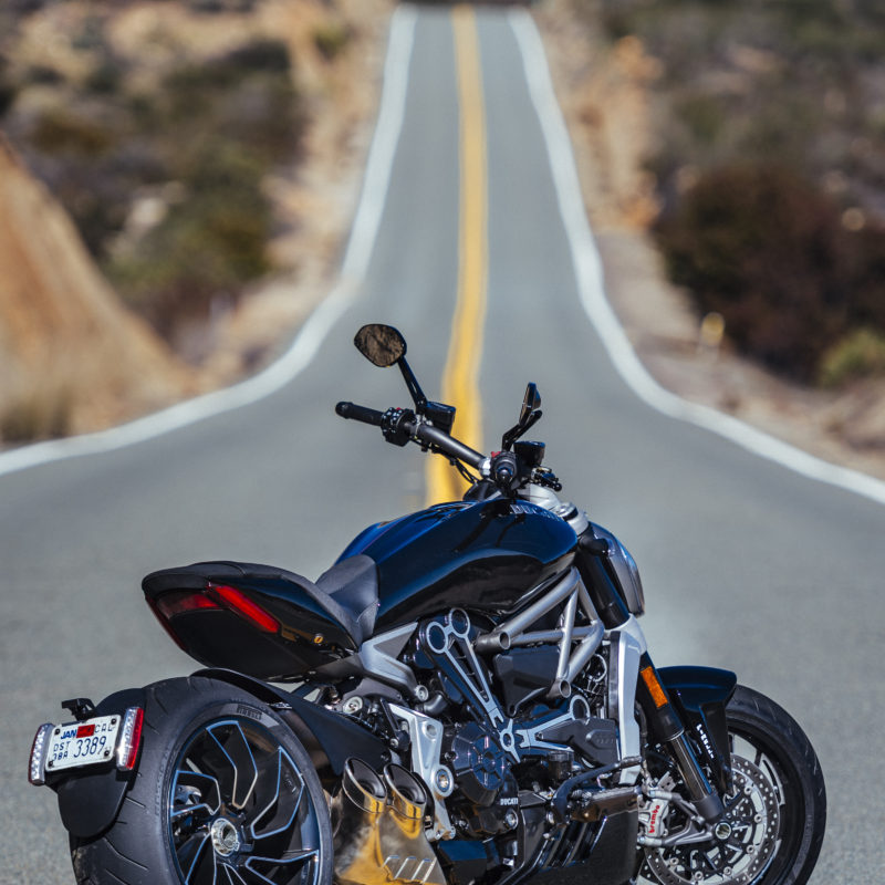 Ducati XDiavel show off