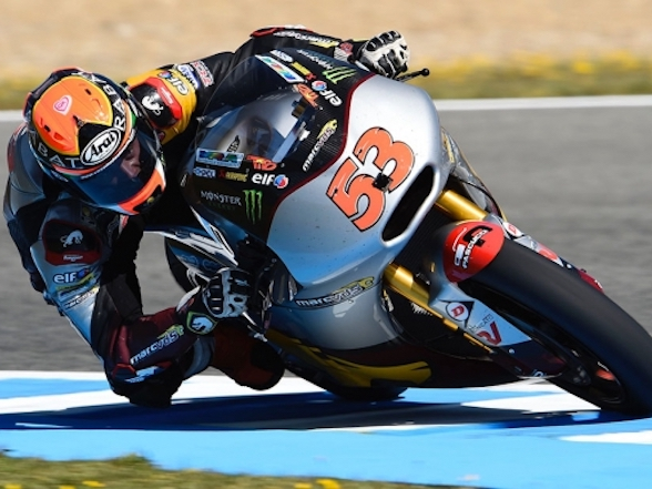 Rabat's priceless 2014 championship winning Moto2 bike stolen