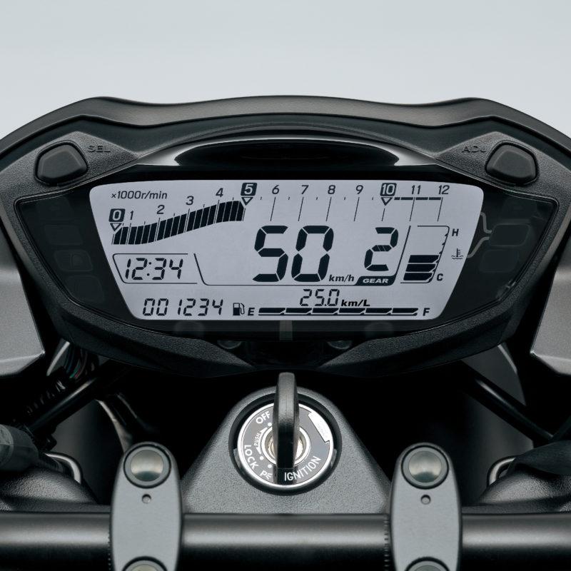 Suzuki SV650 Dash