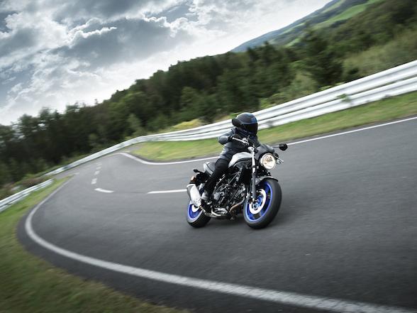 Suzuki SV650 Action