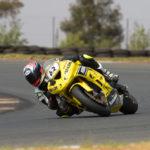 Aiden Liebenberg won the second Super600 race