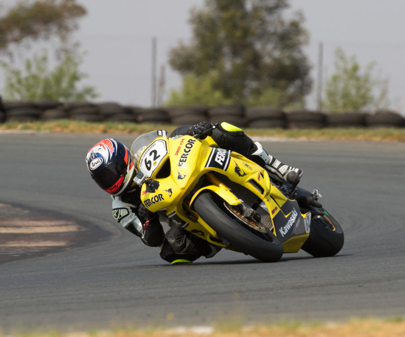 Aiden Liebenberg won the second Super600 race