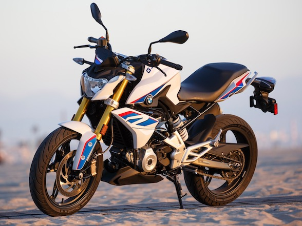 Pirelli BOTY fourth place: BMW G310R