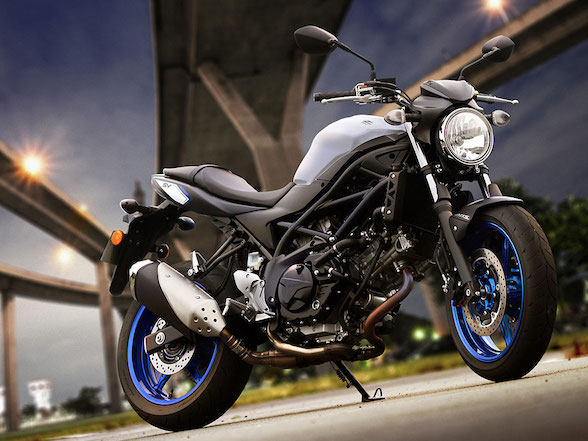 Pick up a new Suzuki SV650 for a reduced R90,900