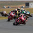 Clint Seller leads the opening SuperGP race copy
