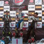 SuperGP race 2 podium