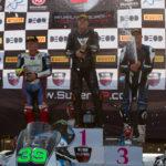 SuperMasters race 2 podium