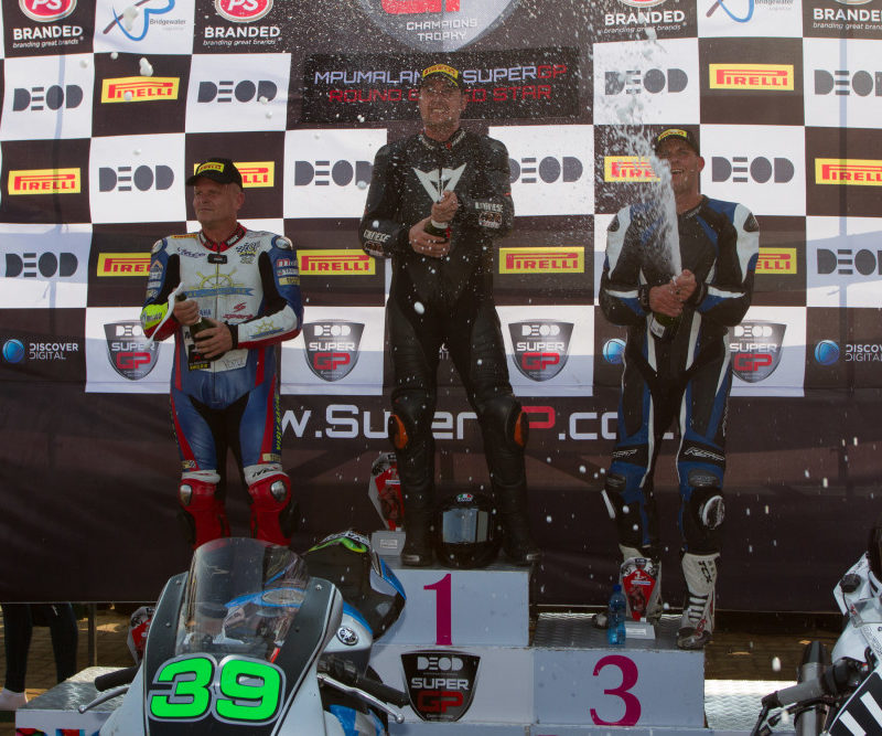 SuperMasters race 2 podium