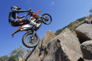 Learning extreme enduro on the first fuel-injected two-stroke