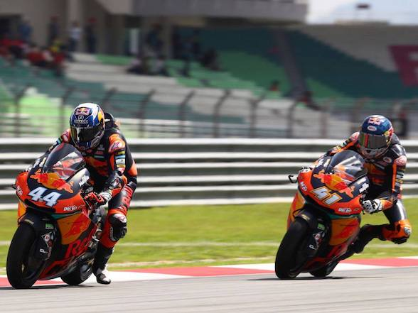 Malaysia Moto2: Binder on podium as KTM claims another 1-2