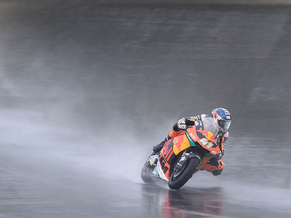 Japanese MotoGP: Brad Binder completes tricky first day at Motegi