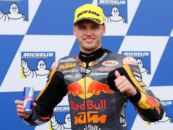 Binder grabs his first podium in Australia