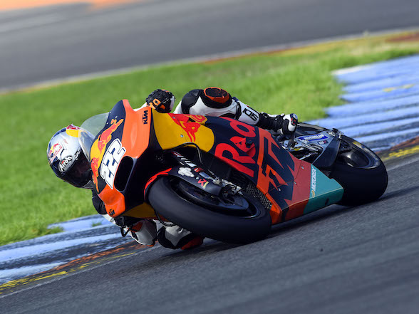 MX star Cairoli talks about his KTM MotoGP tryout