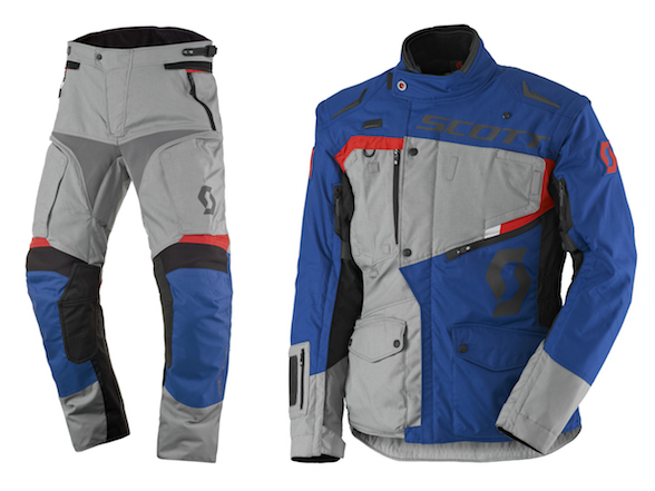 New Scott Dualraid adventure apparel at GPS4Africa