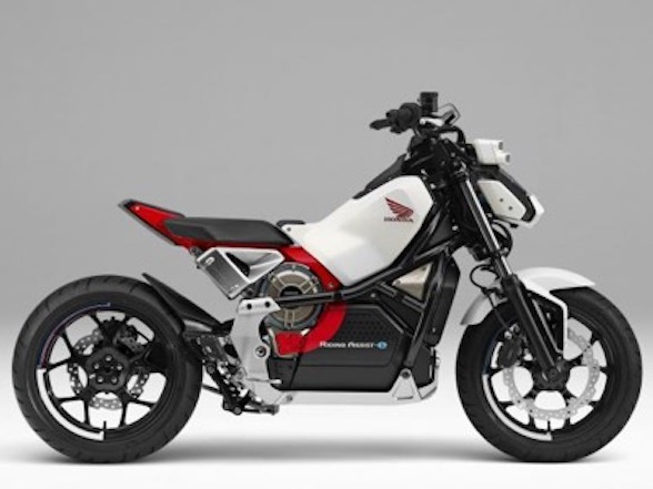 Honda Riding Assist-e self-balancing electric bike