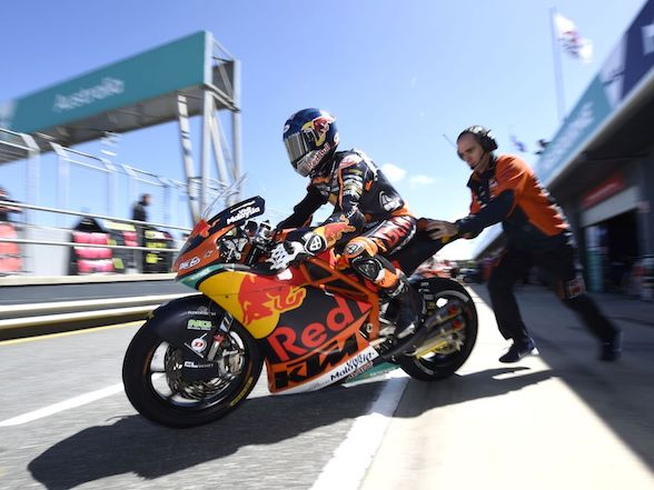Brad Binder achieves personal best qualifying at Phillip Island – 4th