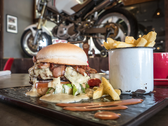 Record breaking: Rim & Rubber's new Monster Burger Challenge