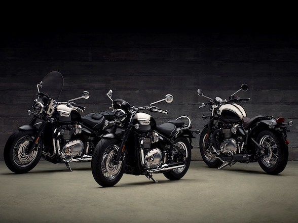 News: Triumph Bobber Black and Speedmaster Revealed