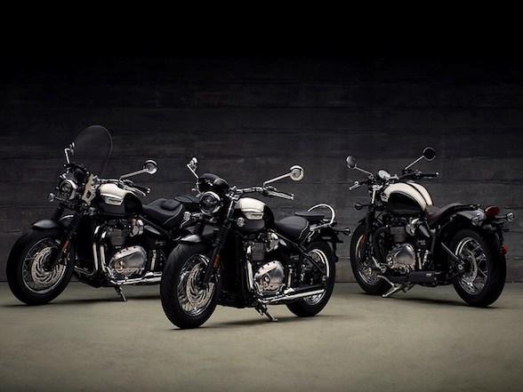 News: Triumph Bobber Black and Speedmaster Revealed