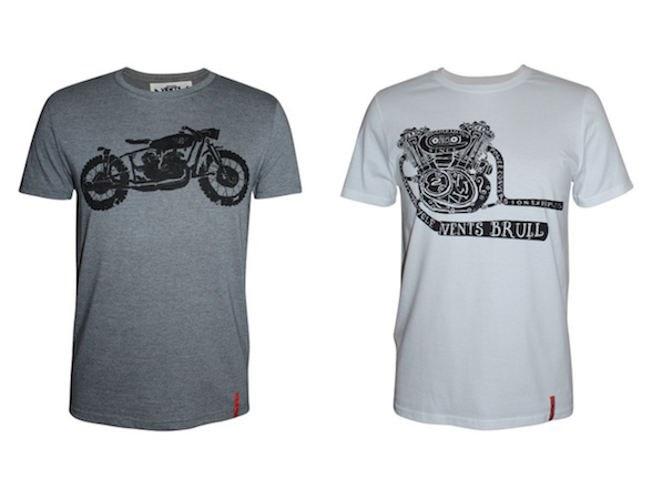 Harry Fisher fashion tips: Vents Brull designer motorcycle T-shirts