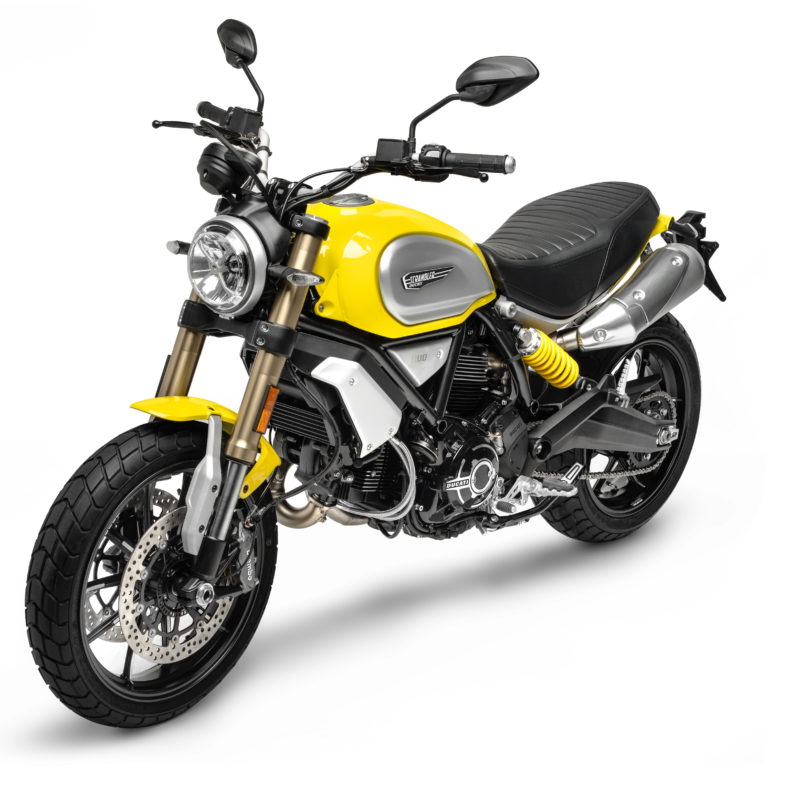 18-04 SCRAMBLER 1100 YELLOW